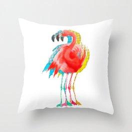 Flamingo PoP Throw Pillow