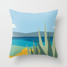The passage Throw Pillow