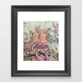 Snake Charming Framed Art Print