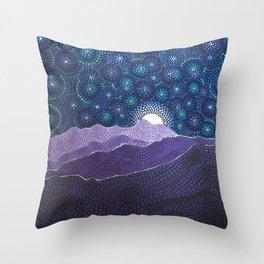 Chief Peak Throw Pillow