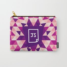 JAVA + JAVASCRIPT - FOR WEB / CODING / PROGRAMMERS / DEVELOPERS Carry-All Pouch