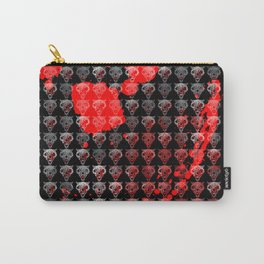 Wolves Pattern Carry-All Pouch
