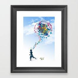 child creation chronicle 2 Framed Art Print