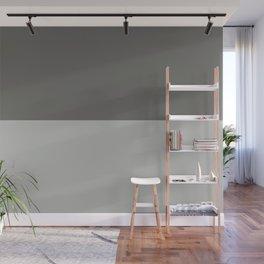 Benjamin Moore 2019 Color of Year Metropolitan & Kendall Charcoal Gray Bold Horizontal Stripes Wall Mural
