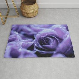 Lavender roses Rug
