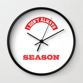 Funny Parent Track & Field Runner Mom Dad Mother Father Wall Clock