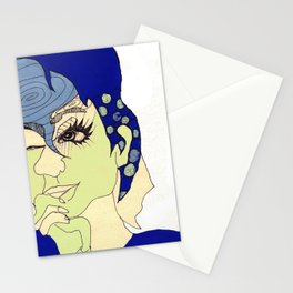 all this time away, you're still on my mind Stationery Cards