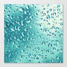 I wish it would rain down Canvas Print
