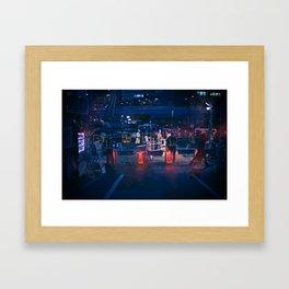 Building Neo Tokyo Framed Art Print