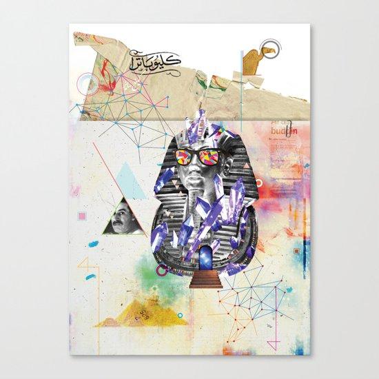 Tuts formation Canvas Print