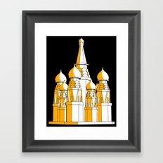 (Saint Basil's) Cathedral Framed Art Print