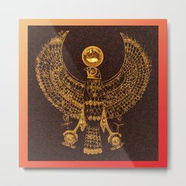 EGYPTIAN GOD HORUS Metal Print