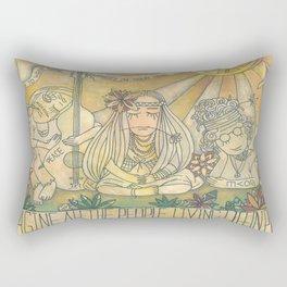 flower children Rectangular Pillow