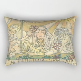 flower children Rectangular Pillow