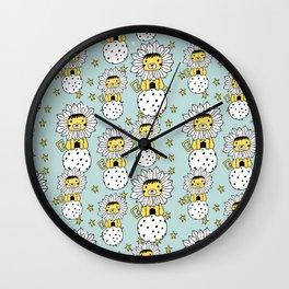Circus Lionet Wall Clock