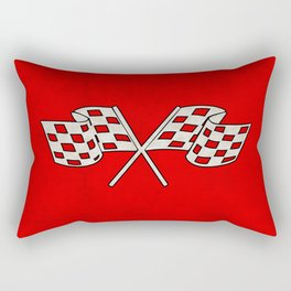 Checkered Flag Rectangular Pillow