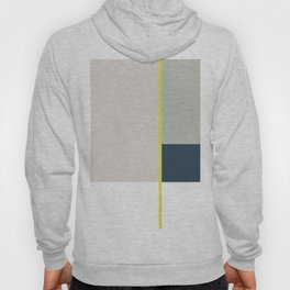 Nothing Is More Abstract Than Reality, Minimalism Print, Geometric Art Hoody