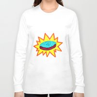 donut Long Sleeve T-shirts featuring Donut by Tesseract