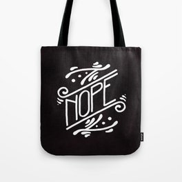 Nope Feminist Art Nouveau Ornate Hand Lettering Quote Tote Bag