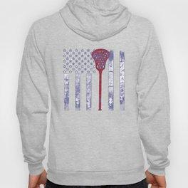 Lacrosse Flag Hoody