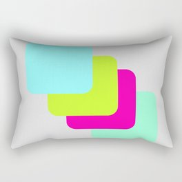 colourful division Rectangular Pillow