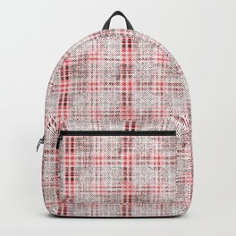 Classical red-gray cell. Backpack