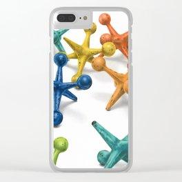 Jack's Jacks- A Still Life Clear iPhone Case
