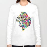 gorilla Long Sleeve T-shirts featuring Gorilla by Narek Gyulumyan