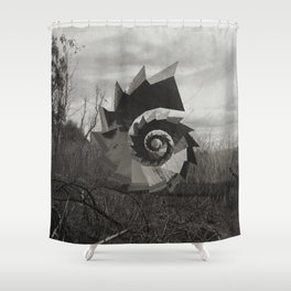 Intervention 37 Shower Curtain