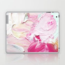 Minty Rose (Abstract Painting) Laptop & iPad Skin