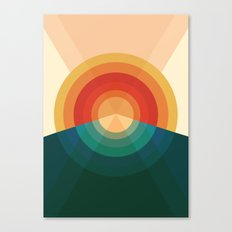 Sonar Canvas Print