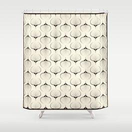"Art Deco . No. 18 ""Shells."" Shower Curtain"