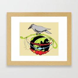 The Raven's Treasure Framed Art Print