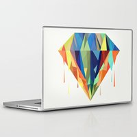 diamond Laptop & iPad Skins featuring Diamond by By Nordic