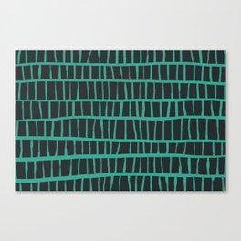 green pattern Canvas Print