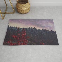 A Dream Away - Autumn Forest Evening Rug