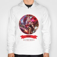 league of legends Hoodies featuring League Of Legends - Ashe by TheDrawingDuo