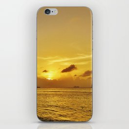 The Golden Days iPhone Skin