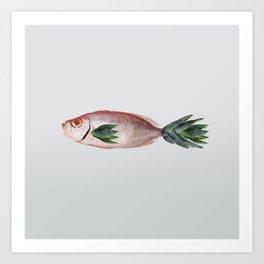 Cactfish Art Print