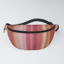 Pretty Summer Vertical Stripes in Shades of Soft Pink, Orange & Yellow Pastel Colors Fanny Pack