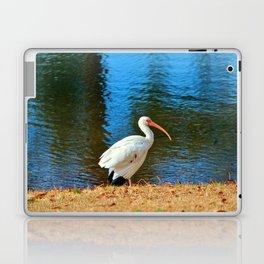 White Ibis Laptop & iPad Skin