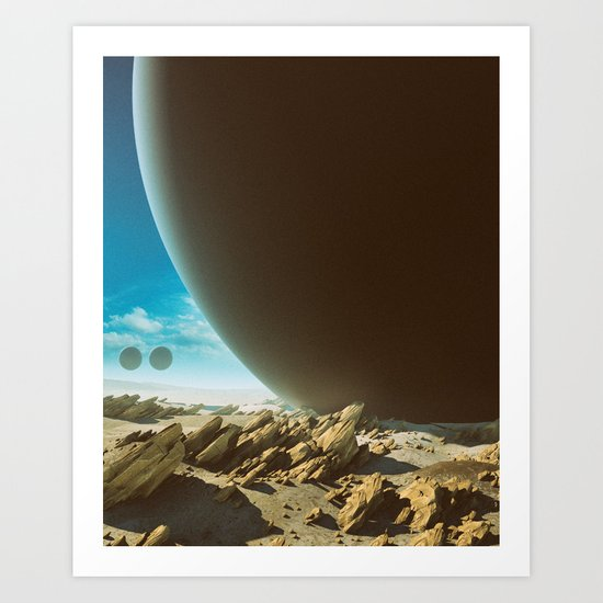 OUTE (everyday 07.01.16) Art Print