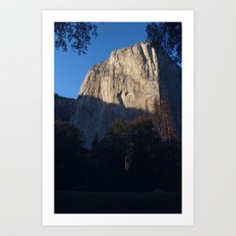 Oh Capitan, My Captian (el capitan) Art Print