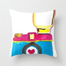 Love Snap Throw Pillow