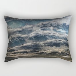 The Storm Shall Pass Rectangular Pillow