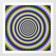 Optically Challenging Rings Art Print