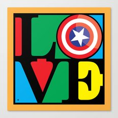 Love America Canvas Print