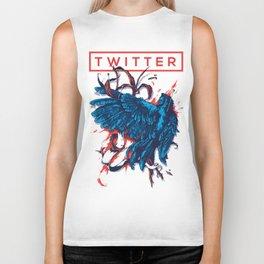 Social Networks / Twitter Biker Tank