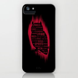 Owls and Fire iPhone Case
