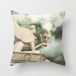 Baudelaire  Throw Pillow